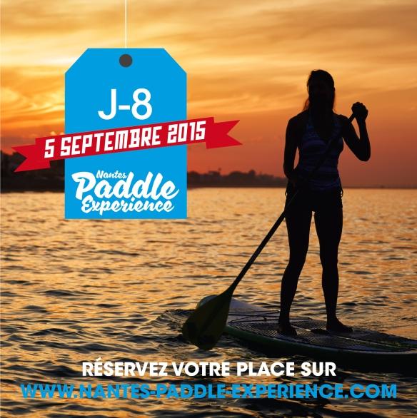 J-8 Nantes Paddle Experience