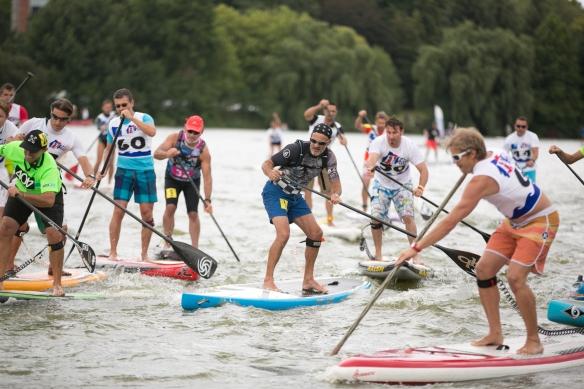 compétitions de paddle , parc expo de la Beaujoire , le 4 septembre 2015